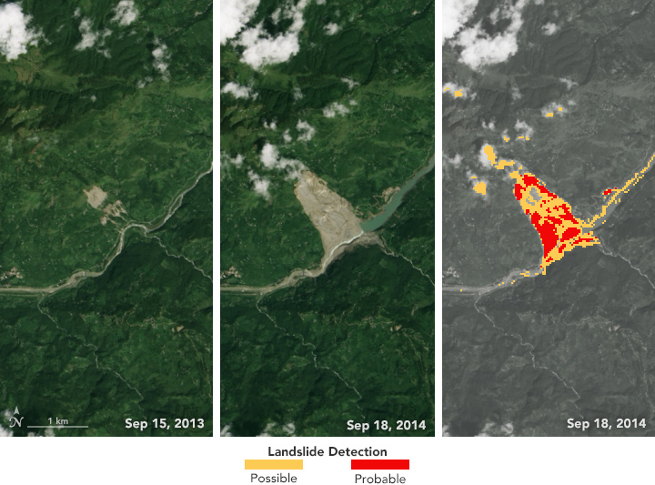 Automating the Detection of Landslides