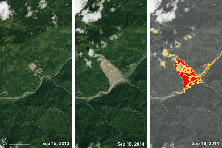 Automating the Detection of Landslides - related image preview