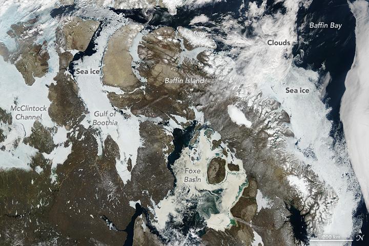 A Passage Through Nunavut