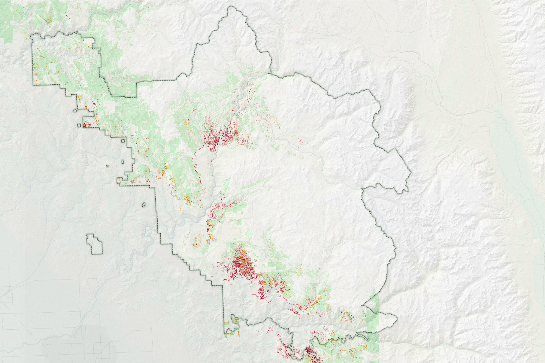 Quantifying Tree Loss in Sierra National Forest - related image preview