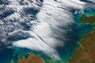 Cloud Streets Over the Timor Sea