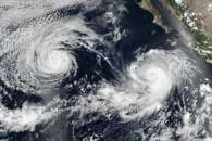 Hurricane Darby and Tropical Storm Estelle in the Eastern Pacific