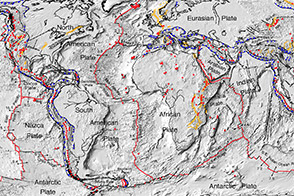 Digital Tectonic Activity Map - selected image