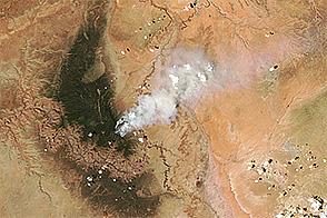Fuller Fire, Arizona