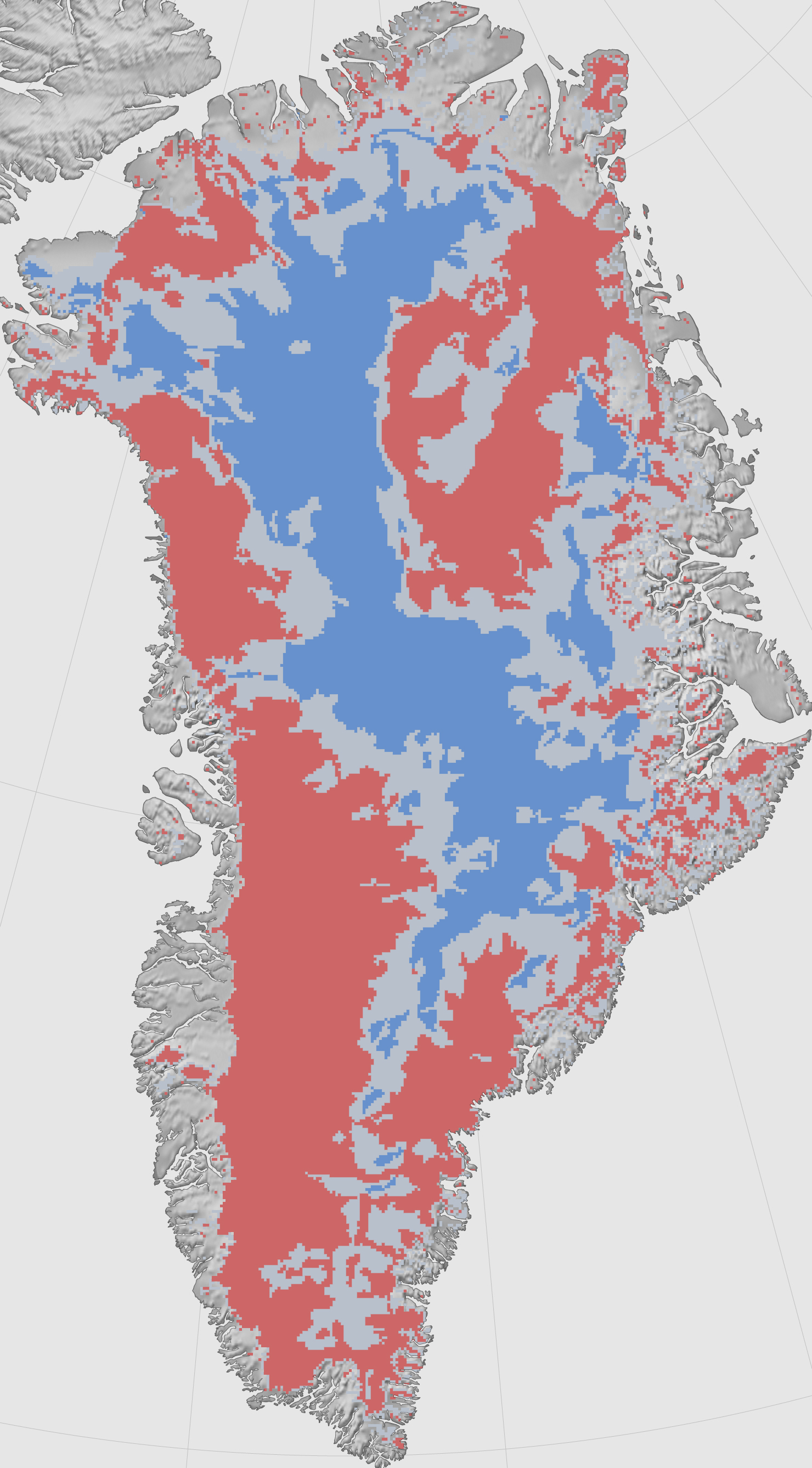 Melt at the Base of the Greenland Ice Sheet Image of the Day