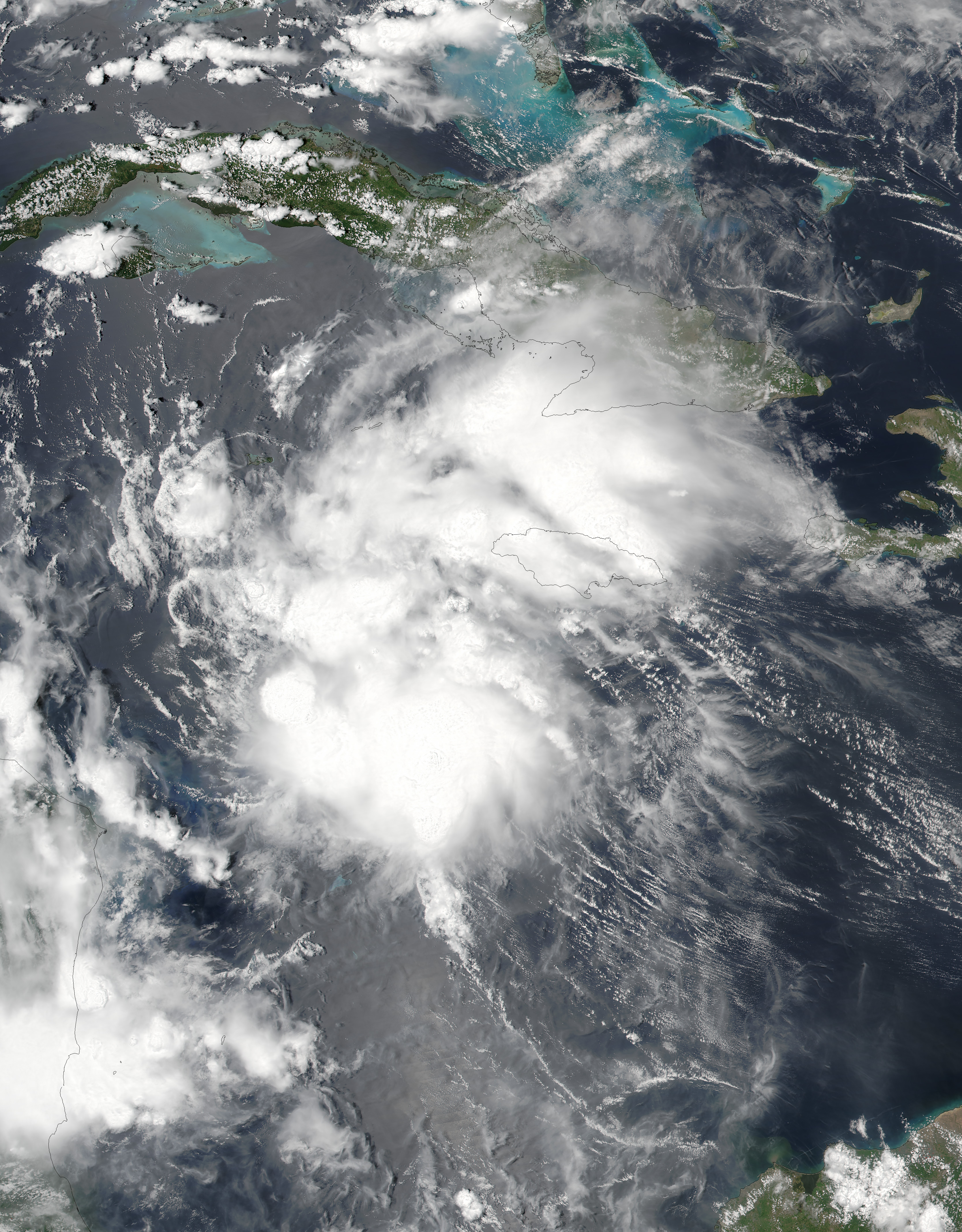 Tropical Storm Earl : Natural Hazards