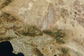 Blue Cut Fire Scorches Southern California