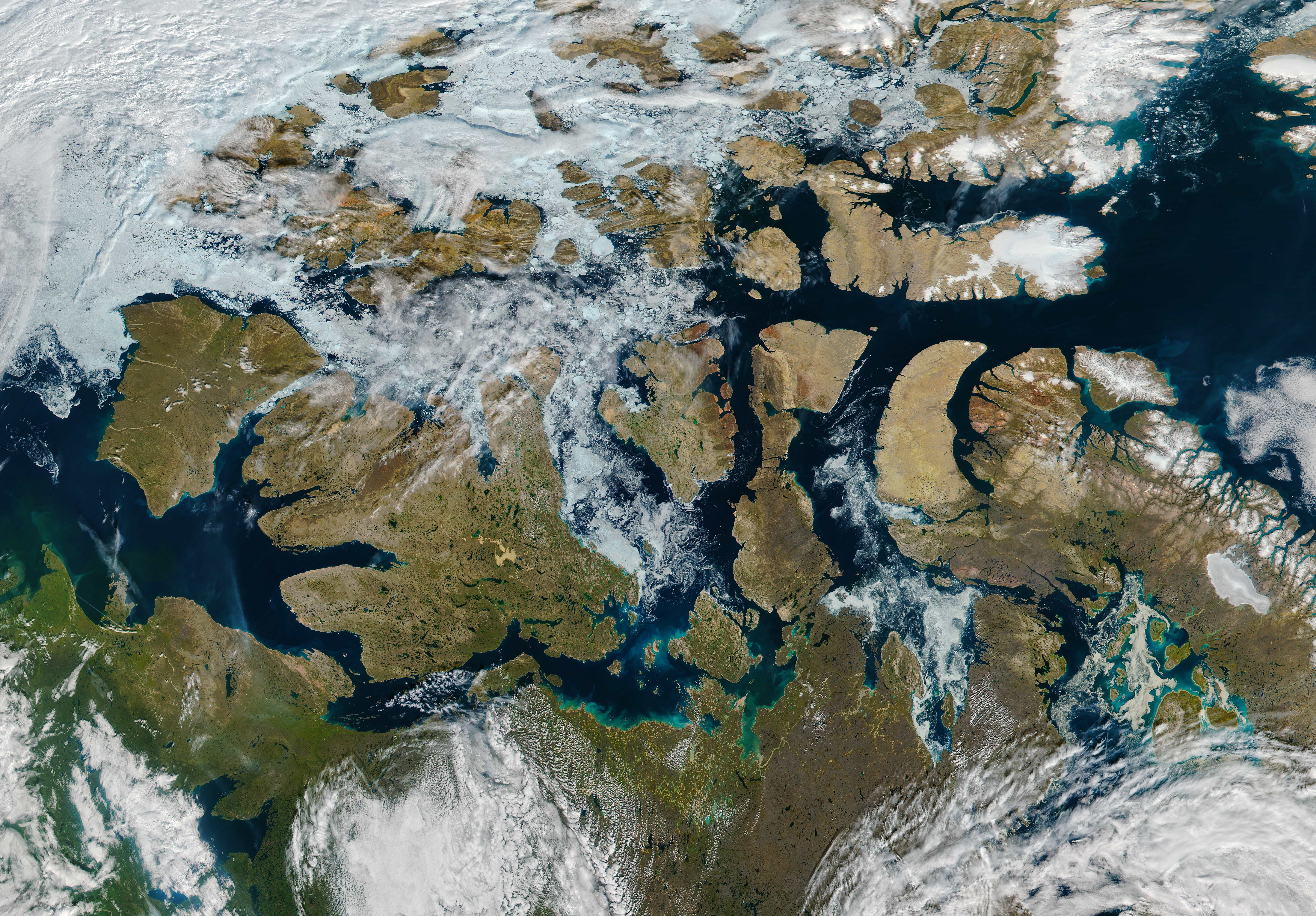 A Nearly Ice-Free Northwest Passage - related image preview