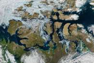 A Nearly Ice-Free Northwest Passage