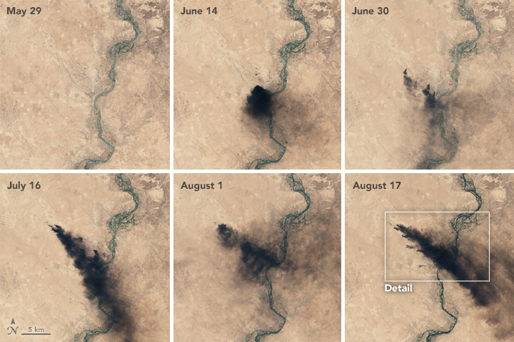 Oil Fires in Iraq - related image preview