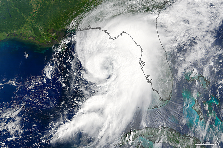 Hurricane Hermine Approaches Florida