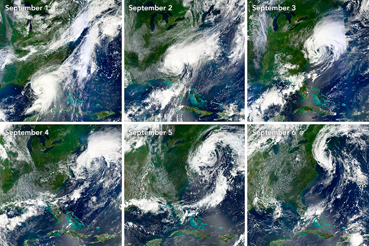 The Evolution of Hurricane Hermine