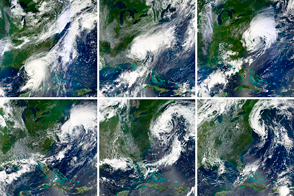 The Evolution of Hurricane Hermine  - selected image