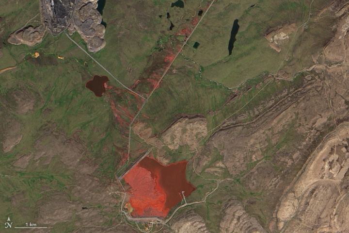 Siberian River Has Turned Red Before, Satellites Show - related image preview