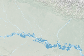 Flooding of the Ganges