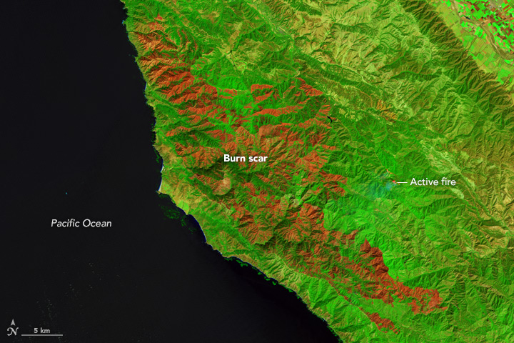 Soberanes Still Burns