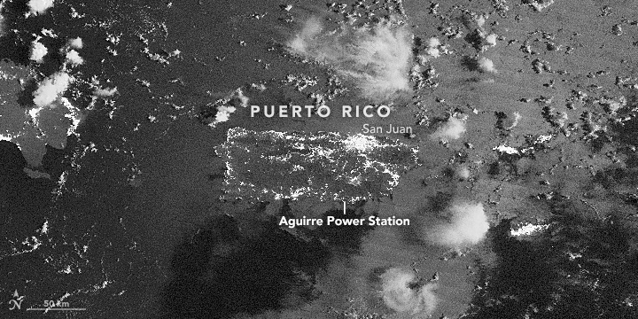 Puerto Rico Goes Dark