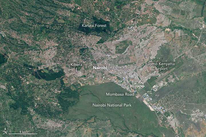 Nairobi Swells with Urban Growth