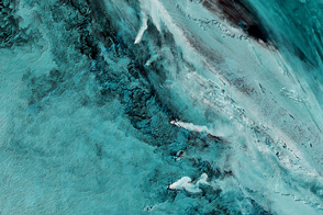 A Trio of Plumes in the South Sandwich Islands