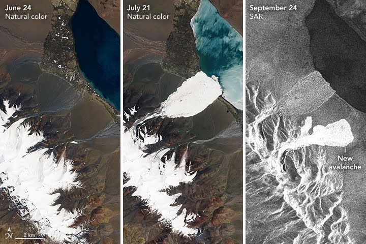 A Second Massive Ice Avalanche in Tibet