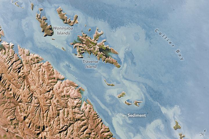 Sediment Patterns, Western Australia