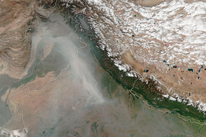 A Stream of Smoke in Northern India