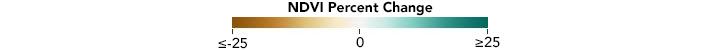 Color bar for Sap-sucking Bugs Threaten Hemlock Forests