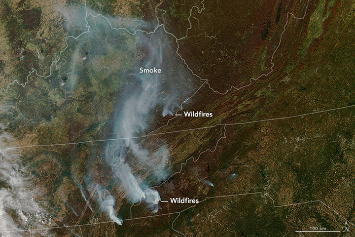 Drought and Fire in the Southeast