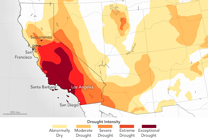 Drought Continues to Grip Southern California