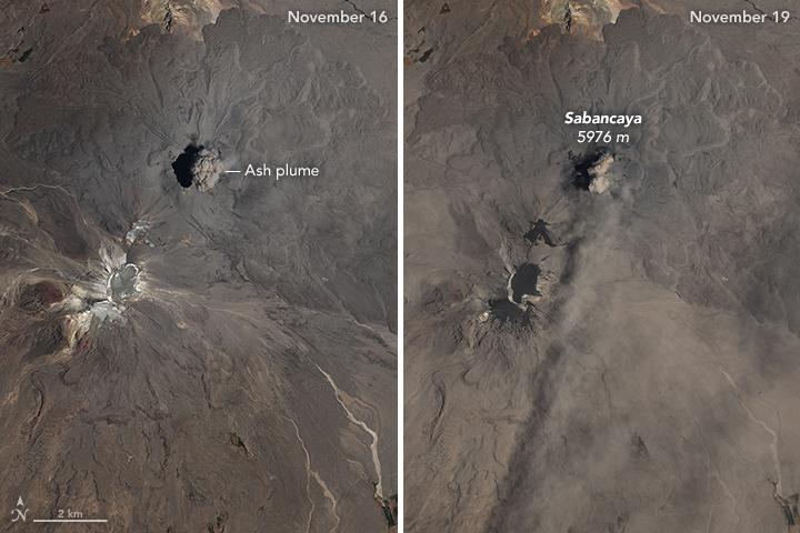 Eruption at Sabancaya