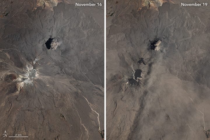 Eruption at Sabancaya - related image preview