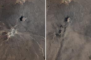 Eruption at Sabancaya - selected image