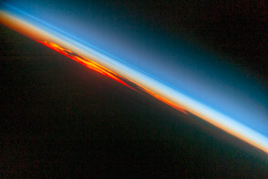 Fiery South Atlantic Sunset
