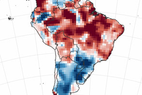 A Dry Start to South America's Wet Season