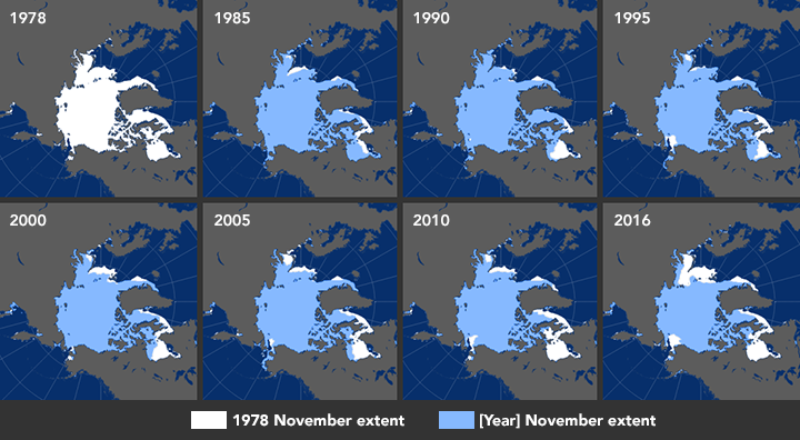 Growing Pains: Arctic Sea Ice at Record Lows - related image preview