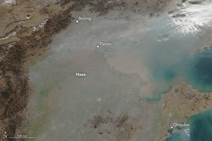 Smog and Haze in Northern China