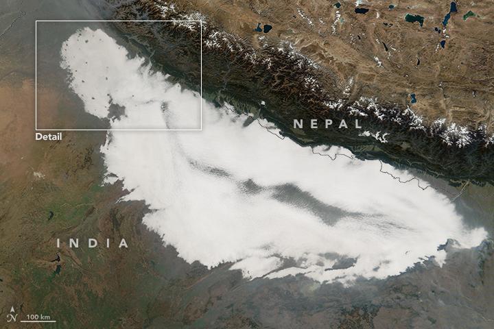 Fleeting Fog in India