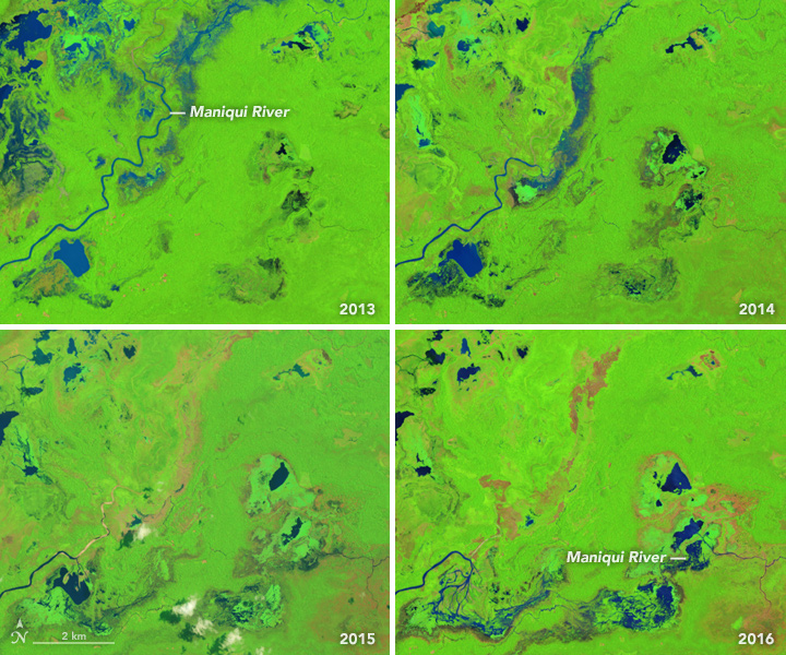 A Shape-Shifting River in Bolivia