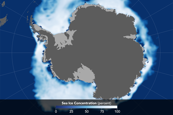 Melting Woes: Antarctic Sea Ice at Record Lows - related image preview
