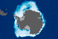 Melting Woes: Antarctic Sea Ice at Record Lows