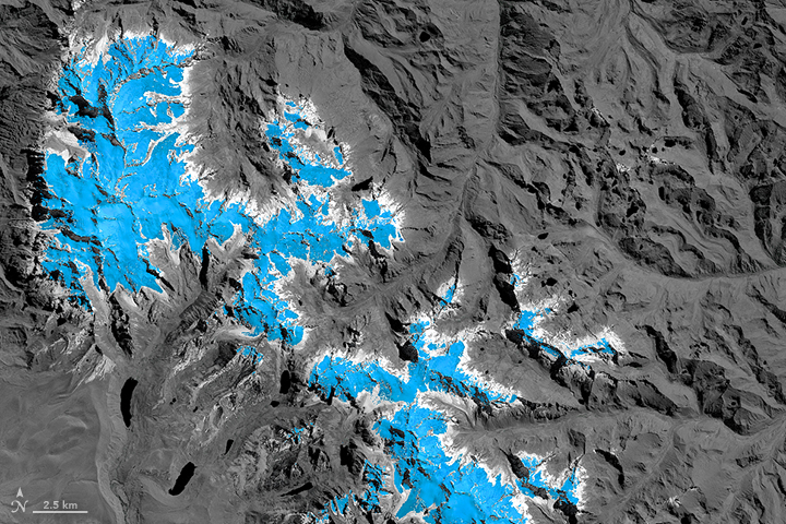 Glacier Change Threatens Andes Communities - related image preview
