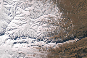 Rare Snow in the African Desert - selected image
