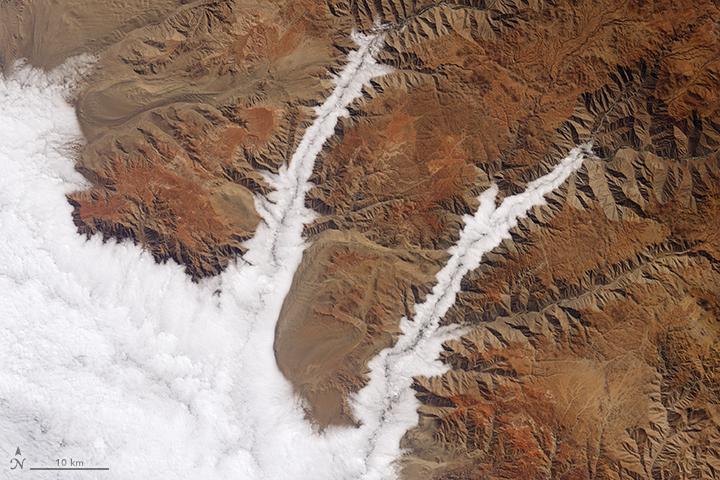 Foggy Peruvian Valleys