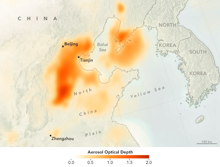 Smog Puts Dozens of Chinese Cities on Red Alert