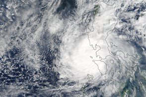 Typhoon Nock-Ten Over the Philippines