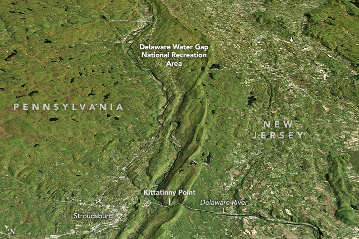 Pretty as a Picture: The Delaware Water Gap