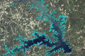 Mapping a Tenacious Invader in Lake Thurmond - selected image