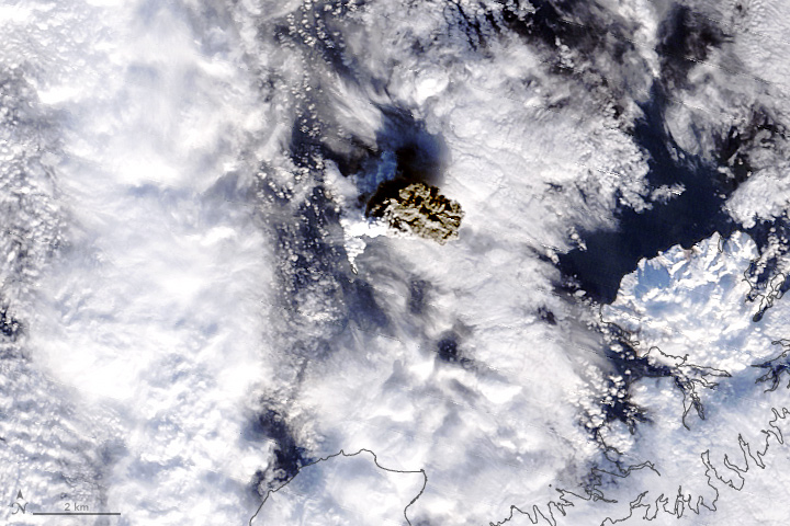 Ash Cloud Tells a Story of a Volcano Rising - related image preview
