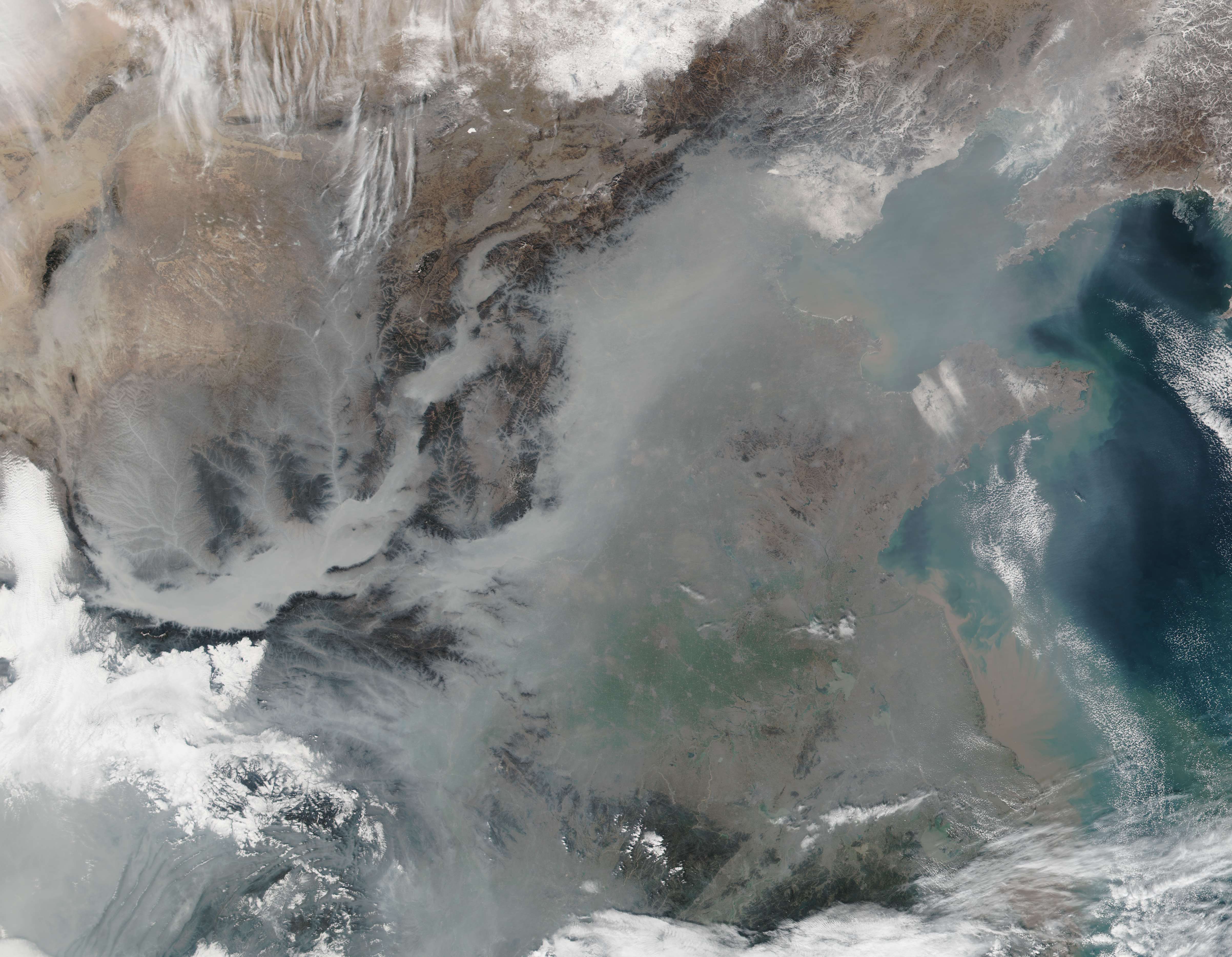 Thick Haze in Eastern China - related image preview
