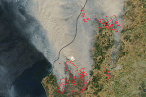 Fires Continue in Chile